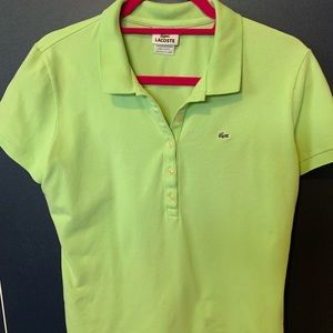 Lacoste IZOD woman's polo shirt